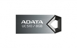 USB диск (флешка) A-Data DashDrive UC510 8Gb Grey USB2.0 (AUC510-8G-RTI)