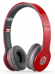 Наушники BEATS Solo HD by Dr.Dre (900-00156-03), red