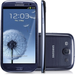 "Смартфон Samsung GT-I9300i Galaxy S III Duos 16Gb Metallik Blue 3G/Android 4.3/4.8"" (GT-I9300MBISER)"