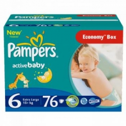 Подгузники PAMPERS Active Baby Extra Large (PA-81447223)