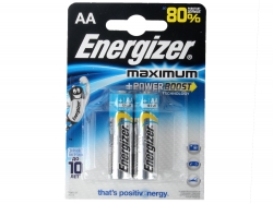 Батарейки Energizer Maximum LR6/E91 (АА) FSB 2 шт. (638634/297546)
