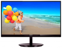 "LED монитор 21.5"" PHILIPS 224E5QHSB/00(01) Black-Cherry"