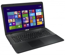 Ноутбук Asus X751LD-TY062H  (90NB04I1-M02010) 17.3'' HD+(1600x900) GLARE/Intel Core i3-4010U 1.70GHz Dual/4GB/1TB/GF 820M 2GB/DVD-RW/WiFi/BT4.0/1.3MP/2in1/USB3.0/4cell/2.80kg/W8/1Y/BLACK