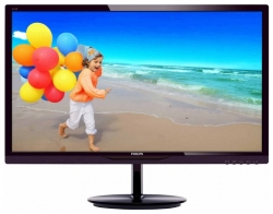 "LED монитор 24"" PHILIPS 244E5QHAD/00(01) Black-Cherry"