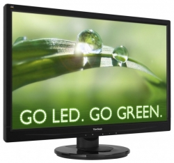 "LED монитор 21.5"" ViewSonic  VA2246a-LED Glossy-Black"