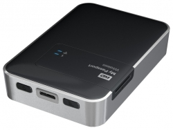 "Внешний жёсткий диск WD My Passport Wireless 1Tb USB3.0 WiFi 2.5"" EXT, RTL (WDBK8Z0010BBK-EESN)"