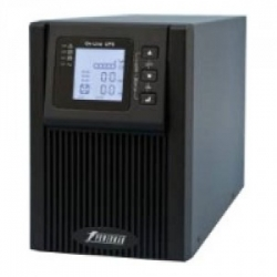 Источник бесперебойного питания PowerMan Online 1000VA (Online-Double conversion/LCD Display/USB/Software/RJ11/45,RS-232)