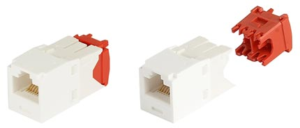 Модуль Panduit Mini-Com CJ5E88TGAW Mini-Com RJ45 кат.5e White