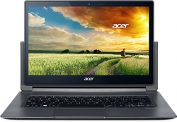 "Ультрапортативный ноутбук Acer Aspire R7-371T-52XE (NX.MQQER.008) dk.grey/Core i5 5200U/4Gb/SSD256Gb/13.3""/Touch/WQHD/WiFi/BT/Cam/Windows 8.1"