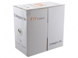 Кабель Telecom FTP кат. 5е 4 пары 305м 0.50mm CCA (FTP4-TC305C5EN)