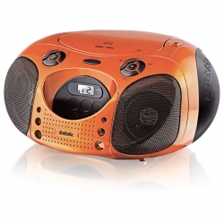 Автомагнитола BBK BX110U CD MP3 Orange/Black