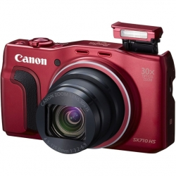 Цифровой фотоаппарат Canon PowerShot SX710 HS Red (0110C002)