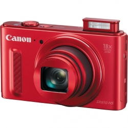 Цифровой фотоаппарат Canon PowerShot SX610 HS Red (0113C002)