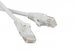 Патч-корд Hyperline PC-LPM-UTP-RJ45-RJ45-C5e-3M-LSZH-WH U/UTP, Cat.5е, LSZH, 3 м, белый