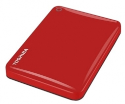 "Внешний жёсткий диск Toshiba CANVIO Connect II 2Tb Red 2.5"" USB 3.0 (HDTC820ER3CA)"