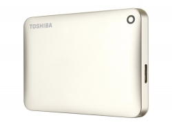 "Внешний жёсткий диск Toshiba CANVIO Connect II 500Gb Gold 2.5"" USB 3.0 (HDTC805EC3AA)"