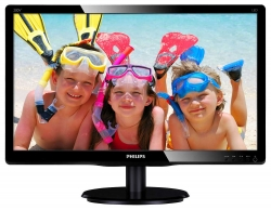 "LED монитор 19.53"" PHILIPS 200V4QSBR/00(01) Black"