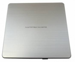 Привод CD-R/RW LG GP60NS60 Silver USB ultra slim RTL