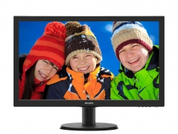 "LED монитор 23"" Philips 233V5QHABPR (00/01) Black"