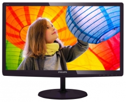 "LED монитор 23.6"" Philips 247E6QDAD (00/01) Black/Red"
