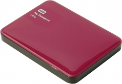 "Внешний жёсткий диск WD My Passport Ultra USB 3.0 500Gb 2.5"" Red (WDBBRL5000ABY-EEUE)"