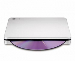 Привод LG GP70NS50 Silver USB ultra slim M-Disk Mac внешний RTL