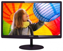"LED монитор 21.5"" Philips 227E6QDSD (00/01) Dark-Vinous"