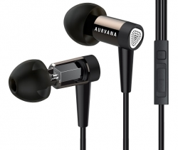 Гарнитура Creative Aurvana In-Ear 2 Plus Black (51EF0670AA001)