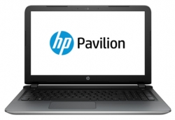 "Ноутбук HP Pavilion 15-ab004ur (M3Z69EA) Core i3 5010U/4Gb/500Gb/DVD-RW/Intel HD Graphics R7 M360 2Gb/15.6""/HD (1366x768)/Windows 8.1 64/silver/WiFi/BT/Cam/2700mAh"