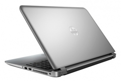 "Ноутбук HP Pavilion 15-ab024ur (N2H49EA) Core i3 5010U/4Gb/500Gb/DVD-RW/Intel HD Graphics R7 M360 2Gb/15.6""/HD (1366x768)/Free DOS 64/silver/WiFi/BT/Cam/2700mAh"