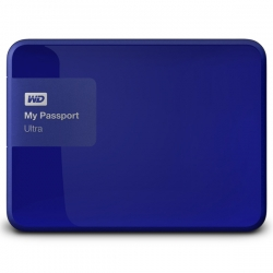 "Внешний жёсткий диск WD My Passport Ultra USB 3.0 2Tb 2.5"" Blue (WDBNFV0020BBL-EEUE)"