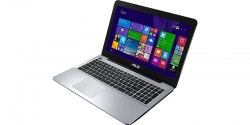 "Ноутбук ASUS X555LF (90NB08H2-M01940) 15.6"" 1366х768 Intel Core i5-5200U 2.2GHz, 8Gb, 1Tb, DVD-RW, NVidia 930M 2Gb, Wi-Fi, BT, Cam, Win8.1, Silver-Black"
