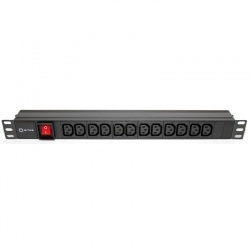 Блок розеток 5bites PDU1219A-09 12IEC / AL / SWITCH / 1U / 19""