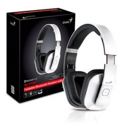 Наушник с микрофоном Genius HS-970BT WHITE