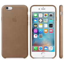 Чехол Apple iPhone 6/6s Leather Case Brown (MKXR2ZM/A)