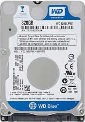 "Жёсткий диск WD WD3200LPCX Blue 320Gb 5400rpm 8Mb 2.5"" SATA-III"