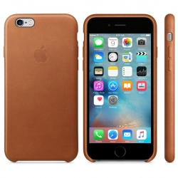 Чехол Apple iPhone 6/6s Leather Case Saddle Brown (MKXT2ZM/A)