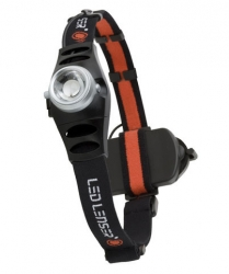 Фонарь Led Lenser H6 7296-R Black
