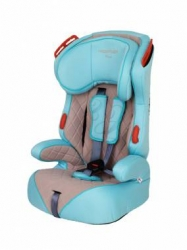 Автокресло Happy Baby Atlant от 9 до 36 кг (1/2/3) Turquoise/Grey (4690624015076)