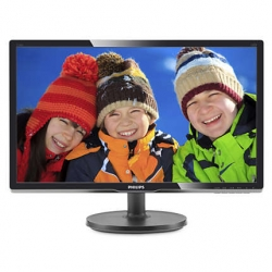 "LED монитор 20.7"" Philips 216V6LSB2 (10/62) Black"