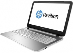 "Ноутбук HP Pavilion 15-ab226ur (N7H17EA) Core i3 5020U/4Gb/500Gb/DVD-RW/AMD Radeon R7 M360 2Gb/15.6""/HD (1920x1080)/Windows 10/silver/WiFi/BT/Cam"